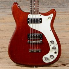 Epiphone Wilshire 12-String Cherry 1969 (s934) | Chicago Music Exchange