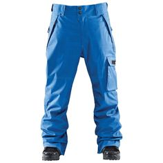 """ThirtyTwo """"Basement"""" Snowboard pants.  I'm copping a pair of these to match my """"UN blue"""" Bern helmet."""