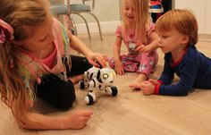 zoomer the dog, thumbs up from us as a toy for kids