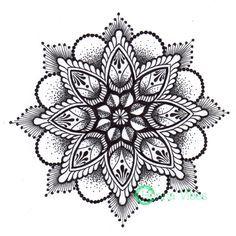 dotwork mandala tattoo designs - Szukaj w Google