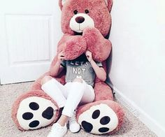 Cute dp for whatsapp latest Teddy Girl, Huge Teddy Bears, Giant Teddy Bear, Big Bear, Dp For Whatsapp, Whatsapp Dp Images, Bear Tumblr, Teady Bear, Girl Pictures