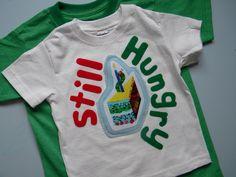 Handicraftiness: Very Hungry Caterpillar Birthday Shirts