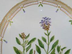 Royal Copenhagen Flora Danica, oblong bowl.