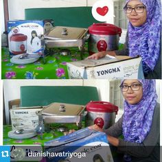 Happy cooking with Magic Jar Yong Ma