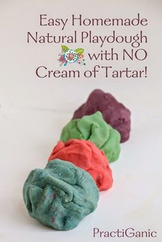 5 Minute Homemade Playdough without Cream of Tartar Fun Crafts For Kids, Craft Activities For Kids, Toddler Crafts, Fall Crafts, Diy For Kids, Toddler Fun, Toddler Activities, Craft Ideas, Toddler Teacher