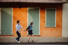 The best engagement photos in New Orleans. If you are trying to pick a location or photographer for your engagemet photos, this post is gold! New Orleans Elopement, New Orleans Wedding, When To Get Married, Red Dress Run, Visit New Orleans, Wedding Costs, Romantic Moments, Anniversary Photos, Long Sleeve Wedding