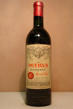 """'61 Chateau Petrus - """"OPP"""" - Other peoples Petrus always tastes the best!"""
