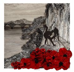 Burma Railway, Royal British Legion, Original Art, Original Paintings, Royal Marines, Prisoners Of War, Support Our Troops, Over The River, Remembrance Day