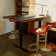 SEQUEL Lift Desk by BDI. #standingdesk #sitstanddesk | BDI Office ...