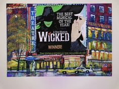 Wicked (replicated) by D Shvidrik Acrylic on canvas