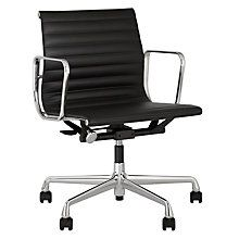 Buy Vitra EA117 Leather Office Chair Online at johnlewis.com