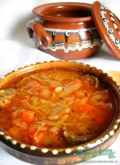 Soup Recipes, Vegetarian Recipes, Cooking Recipes, Healthy Recipes, Foods To Eat, I Foods, Romanian Food, Hungarian Recipes, Vegetable Dishes