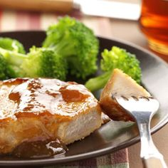 Down-Home Pork Chops Recipe from Taste of Home -- shared by Denise Hruz of Germantown, Wisconsin