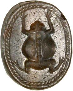 Groda från antiken.
