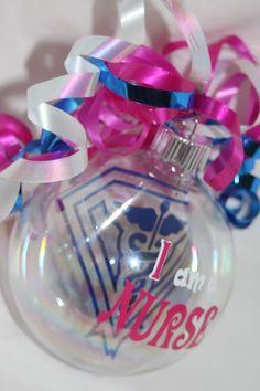 Nurse Floating Christmas Ornament by BigDDesign on Etsy, $7.00