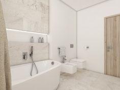 Moderní koupelna DAHLIA - vizualizace