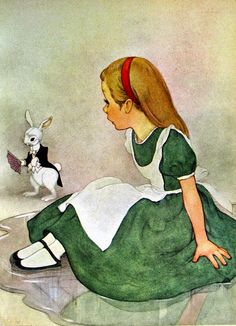 March House Books Blog: I can't go back to yesterday... Alice in Wonderlan...