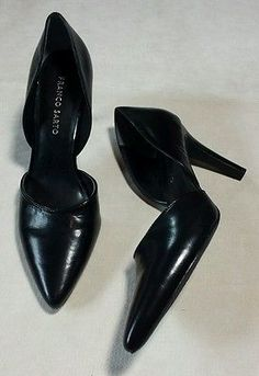 345cfe95ebde Franco Sarto Arrow Women Black Heels Size 9M Pumps Franco Sarto