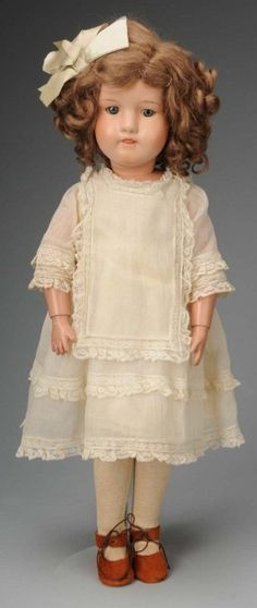 """Rare All Wood Schoenhut """"Miss Dolly"""". 1915 I have one of these - given to me by my nan. My secret treasure!"""
