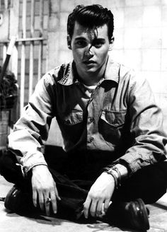 """Johnny Depp in """"Cry Baby"""", 1990"""