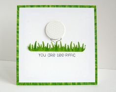 1000+ images about Golf Birthday Cards on Pinterest | Golf ...