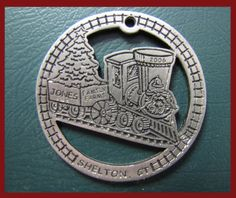 2006: Trains have always been a big part of the themes at Jones. This year the ornament was easy to Choo Choo Choose.