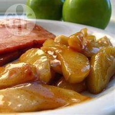 Gekarameliseerde appel @ allrecipes.nl