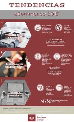 Tendencia eCommerce 2015. Infografía en español. #CommunityManager