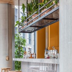 10 restaurant interiors suitable for spring Restaurant Interior Design, Cafe Interior, Restaurant Interiors, Hotel Restaurant, Counter Design, Hospitality Design, Cafe Design, Design Design, Commercial Interiors