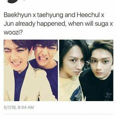 YEESS WHEN WILL SUGA x WOOZI HAPPEN???!!