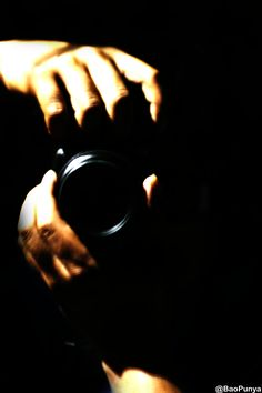 The Hand of Photographer