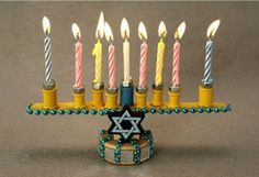 DIY Menorahs To Make with Your Kids | Apartment Therapy