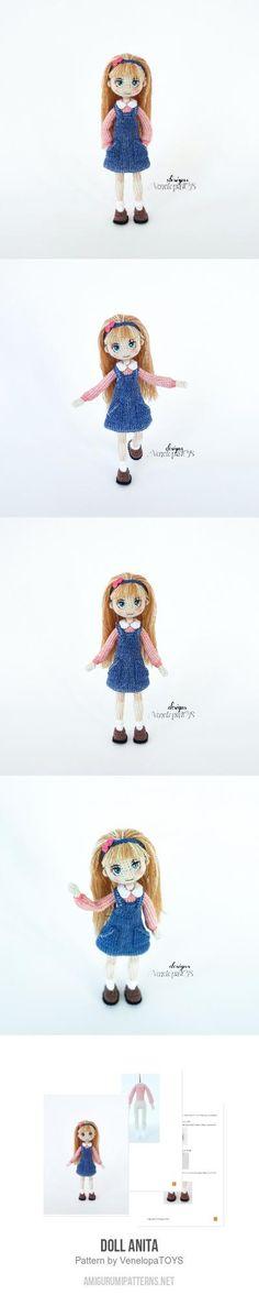 Doll Anita Amigurumi Pattern