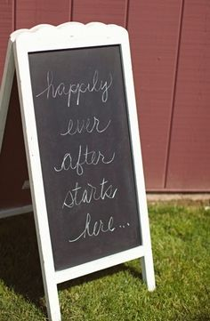 """Just add the word """"shopping"""" at the start of this chalkboard for your consignment, resale or thrift shop"""