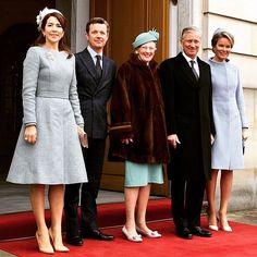 Danish Royals Welcome Belgian State Visit   Royal Hats