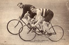 American cyclists, Vanoni & Ingold, early 1900s