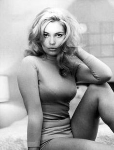 Actress Alexandra Bastedo