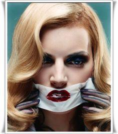 fashion lip gag