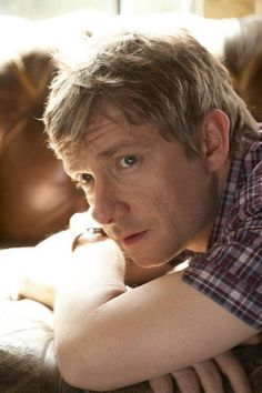 Martin Freeman. Awwwwwwwwwwwww... His arm... His mouth... His eyes... His sexy sexy nose... <3_<3