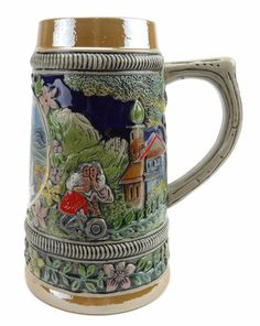 Ludwig's Ceramic Stein without Lid