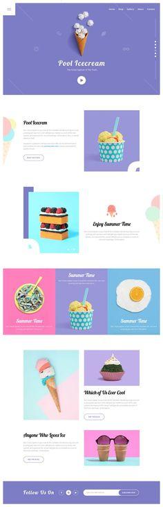Web Design Basics For The Beginner Web Design Trends, Design Web, Layout Design, Design Sites, Web Design Tutorial, Website Design Layout, Email Design, Web Layout, Food Design