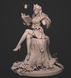 This is the first time we have published our student work on the zbrush forum, thanks to powerful zbrush. Zbrush Character, Female Character Concept, 3d Model Character, Character Poses, Character Art, Character Design, Proportion Art, Samurai Art, Environmental Art