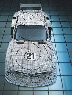 BMW 3.0 CSL by Frank Stella