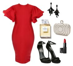 """Plus size"" by perlagellamor on Polyvore featuring moda, Mascara, Gucci, Oscar de la Renta y NARS Cosmetics"