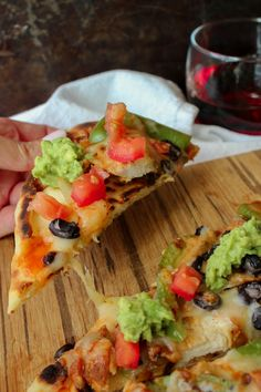 SW Chicken Flatbreads- petitfoodie_