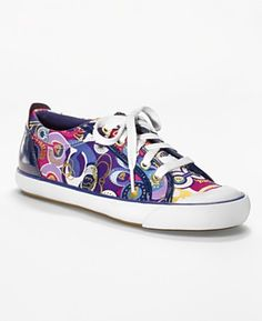 These shoes are the most comfortable shoes out there. No one has them and are so colorful they are a must have Coach Sneakers, Coach Shoes, Shoes Sneakers, Fairy Shoes, Cheap Coach Bags, Painted Sneakers, Womens Designer Bags, Most Comfortable Shoes, Coach Purses