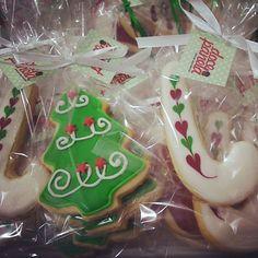 Biscoitos Decorados de Natal com glacê real como fazer passo a passo