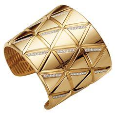 Marina B gold and diamond cuff. $42,000