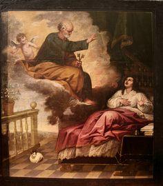 Pedro Atanasio Bocanegra / Aparición de San Pedro a San Ignacio de Loyola para curarle
