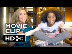 Annie Movie CLIP - Smart House (2014) - Rose Byrne, Quvenzhané Wallis. I so wish I could've done this number with Rose Byrne! She's so innocent and fun in it. I want to meet Rose Byrne one day!